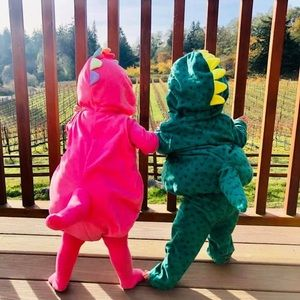 Carters green dragon Halloween costume - 12 month